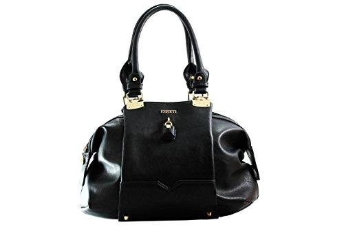 FERETI borsetta elegante nera a tracolla