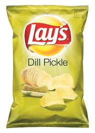 Lay's Dill Pickle Potato Chips 9.5oz Bag (Pack of 3)