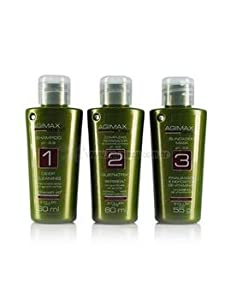 Agi Max Brazilian Keratin Hair Straightening Kit 60 ml