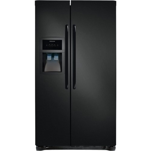 Frigidaire FFHS2622M Energy Star 26 Cubic Foot Side-By-Side Refrigerator with Store-More Capacity and