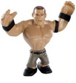 WWE Wrestling Rumblers Mini Figure John Cena [Black Wristbands] - 1