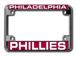 Rico Philadelphia Phillies Laser Motorcycle Frame - Philadelphia Phillies One Size