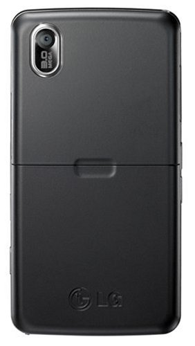 LG KP500 Cookie Unlocked Phone with 3.2 MP Camera and Digital Media Player–International Version with Warranty (Black)
