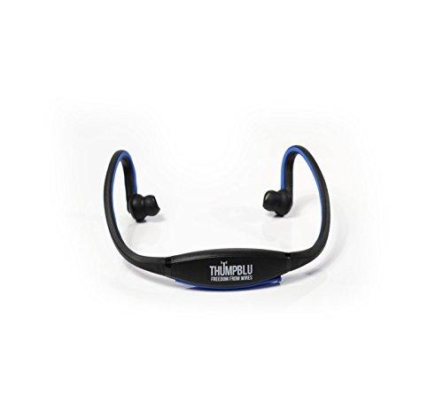 Thump Blu | Wireless Sport Headphones - Black/Blue