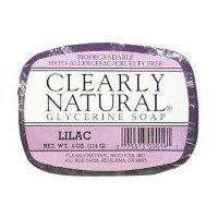 Glycerine Bar Soap - Lilac, 4 oz