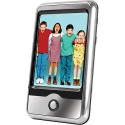 Sylvania 4 GB 2.8-Inch Touch Screen Video MP3 Player with Expandable Memory Slot, Built-In Speakerphone