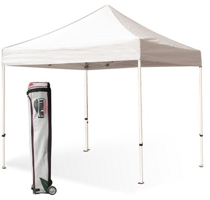 Eurmax Basic Pop Up Gazebo Instant Outdoor Canopy Tent Bonus Roller Bag And Awning (White, 10X10) front-1024908