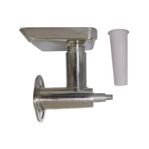 All Metal Stainless Steel Meat Food Grinder Attachment For KitchenAid and Hobart Stand Mixers Get Rabate