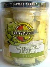 Passport (9 pack) Artichoke Hearts 14.6oz Whole Baby in Brine
