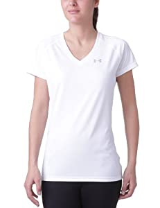 Under Armour Tech SS T-Shirt multisport femme Blanc S