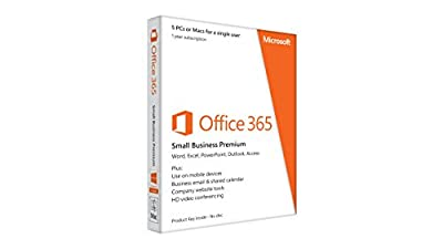 Microsoft Office 365 Small Business Premium | 5 PCs or Macs