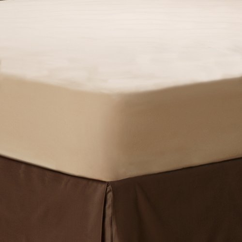 Learn More About Aller-Ease Naturals Organic Cotton Allergy Protection Fitted Mattress Protector, Fu...