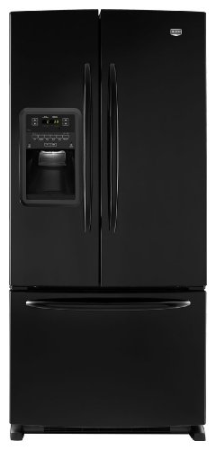 Maytag MFI2269VEB Ice2O 22.0 Cu. Ft. Black French Door Refrigerator