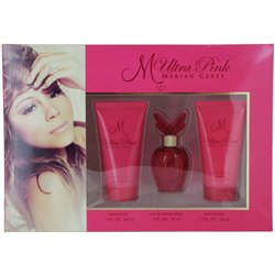 MARIAH CAREY ULTRA PINK by Mariah Carey SET-EAU DE PARFUM SPRAY .5 OZ & BODY LOTION 1.7 OZ & SHOWER GEL 1.7 OZ for WOMEN