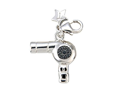 tingle-london-anhanger-charm-haartrockner-silber