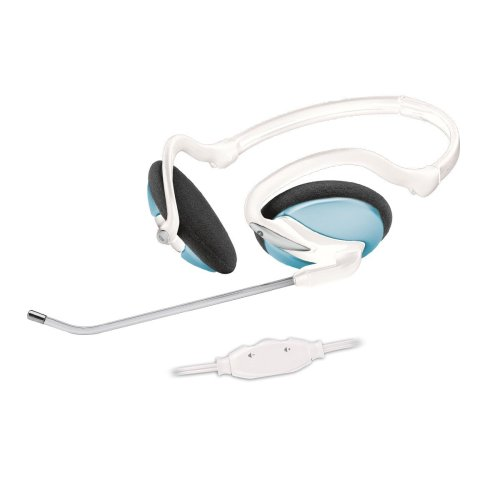 Trust InTouch Travel Headset blau