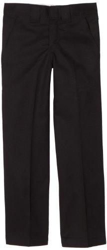 dickies-qp874-boys-regular-fit-pant-size-20-color-black
