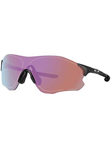 Oakley Evzero Path Occhiali da sole opaco, unisex, Evzero Path, black - Matte Steel/Prizm Golf, Taglia unica