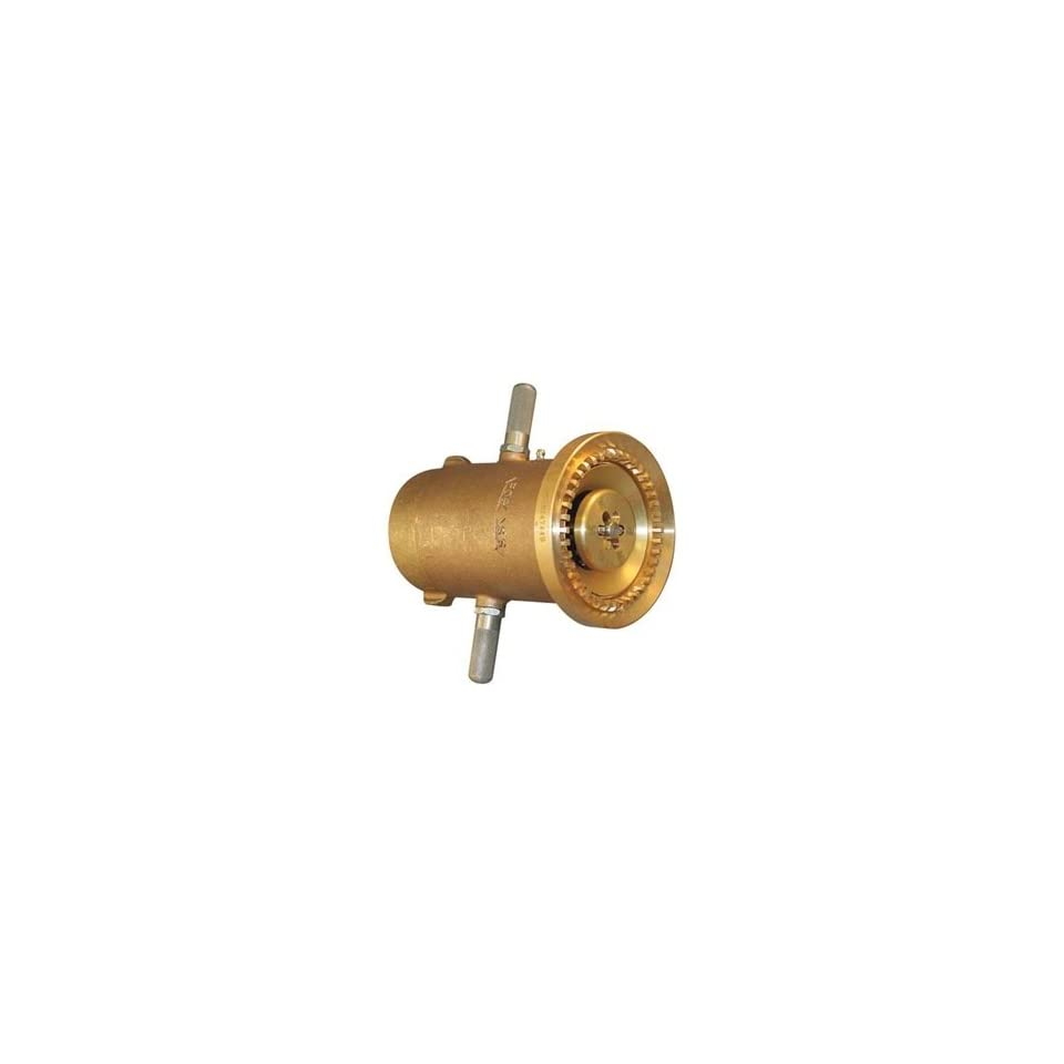 Moon 529 2522 Brass Fire Hose Nozzle, 700 gpm, 2 1/2 NST