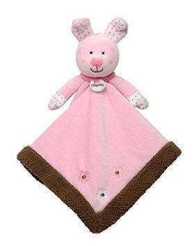 Baby Starters Snuggle Buddy Pink Bunny I Love Mom (Baby Starters Lovey compare prices)