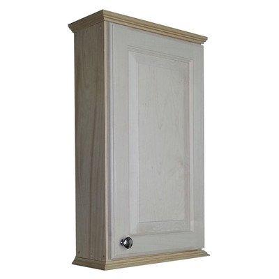 "Ashley Series 25.5"" x 15.25"" Wall Medicine Cabinet Size: 25.5"" H x 15.25"" W x 6.25"" D"