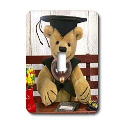 BK Dinky Bears Classic Misc &#8211; Dinky Bears Graduation &#8211; Light Switch Covers &#8211; single toggle switch