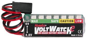 Hobbico Volt Watch 2 Receiver Battery Monitor 4.8/6V