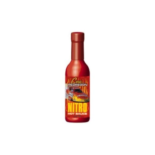 Cruz Pedregon Nitro Habanero Hot Sauce (5oz) Kitchen