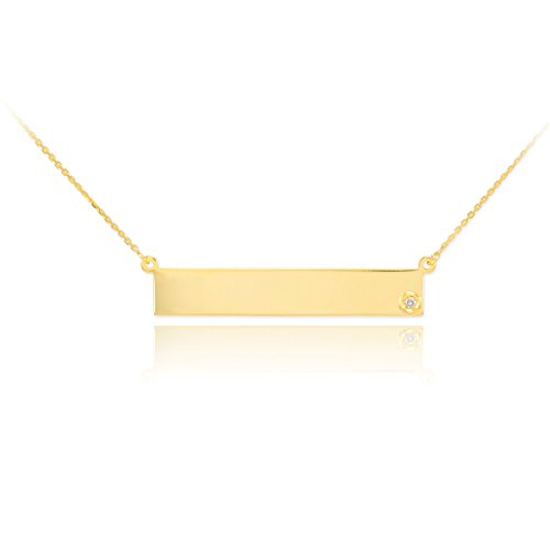 Dainty-14k-Yellow-Gold-Engravable-Personalized-Diamond-Bar-Necklace-for-Women-18