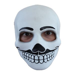 [Day of the Dead Catrin Adult Full Overhead Latex Mask Ghoulish Productions 25029] (Jack Torrance Costume)