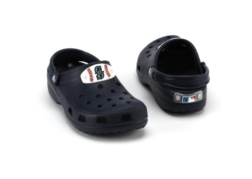 MLB Seattle Mariners Slip-On Classic Clog Style Shoe By Crocs, Navy, Kids 2 at Amazon.com