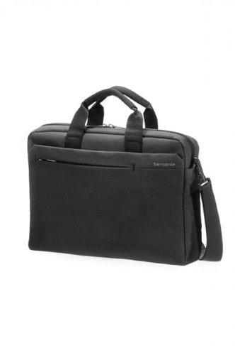 """Samsonite Cartella Network 2 Laptop Bag 13""""-14.1"""" 9.5 liters Nero (Charcoal) 51883-1174"""