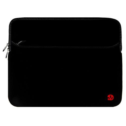 Vangoddy® Manicotto del Computer Portatile Borsa in neoprene per Personal Computer portatile 15.6 pollici per Samsung / Asus / HP / Toshiba /Sony (Nero)