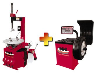 Nationwide NW-530 Tire Changer and NW-953 Wheel