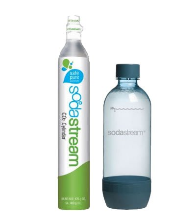Sodastream 60L Carbonator and SodaStream Carbonating Bottle, 1-Liter (Hand Carbonator compare prices)