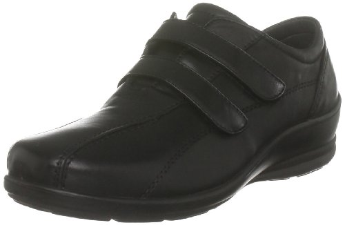 Padders Women's Sady Black Wedges Heels 203 6 UK