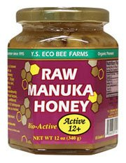 Y.S. Organic Bee Farms  Raw Manuka Honey Active 12+