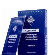 Klorane Smoothing and Relaxing Patches with Cornflower, (7 sachets of 2 patches)