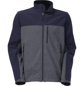 The North Face Apex Bionic Soft Shell Jacket - Men's-Cosmic Blu Htr/Cosmic Blu-XXL by The North Face