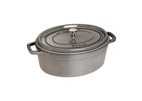 staub-1103718-cocotte-ovale-gris-graphite-37-cm