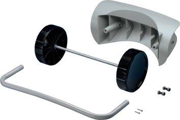 Hailo ProfiLine Mobility-Set per WSB L, colore: grigio antico