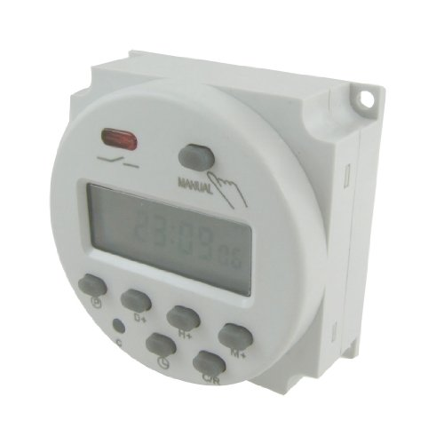 uxcell DC 12V Digital LCD Power Programmable Timer Time Switch Relay 10A
