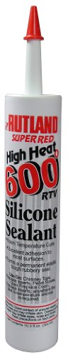 Rutland 600-Degree RTV Silicone Seal Cartridge, 10.3-Ounce, Super Red (Heat Shielding For Wood Stoves compare prices)