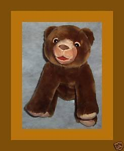 1 X World of Eric Carle: Little Brown Bear Plush (Kohls)