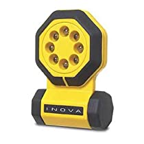 Inova 24/7 APY1 24/7 8-Function Free Standing LED Flashlight, Yellow