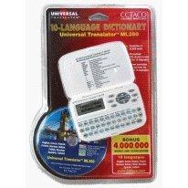 Ml350 - Universal Translator Dictionary For English, French, Russian, German, Spanish, Italian, Finnish, Turkish, Polish & Czech
