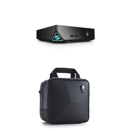Alienware Steam Machine ASM100-6980BLK Bundle with Carrying Case (Alienware Alpha Gaming Pc Console compare prices)