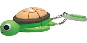 EMTEC M316 Animal Series 4 GB USB 2.0 Flash Drive (Sea Turtle)
