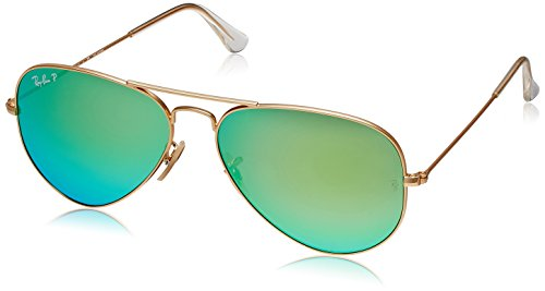 Ray-Ban Aviator Sunglasses (Golden) (RB3025|112/P958)