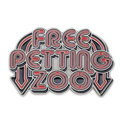 FREE PETTING ZOO BELT BUCKLE DIRTY PUNK Funny Cool